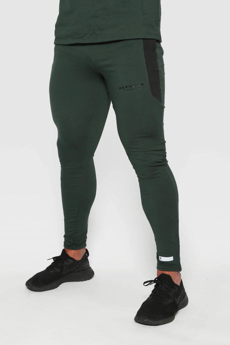 Repwear Fitness ProFit Forest Green Fitted Bottoms - Repwear Fitness