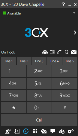 3CX SoftPhone for Windows or Mac