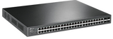 48 Port Gigabit Smart Switch with 48 Port PoE+ |  TPLink T1600-52PS