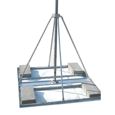 Flat Roof Antenna Mount - Non Penetrating NPRM-2
