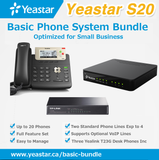 Basic Phone System Bundle for Non-VoIP Phone Lines