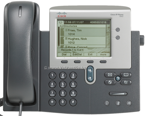Cisco 7942G Unified IP Desk Phone