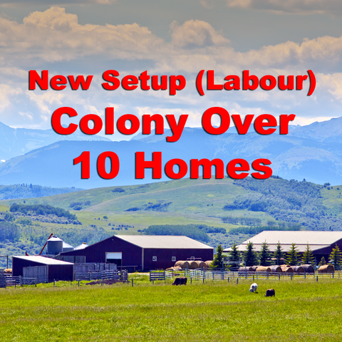 Colony Phone Setup (Labour) over 10 Homes