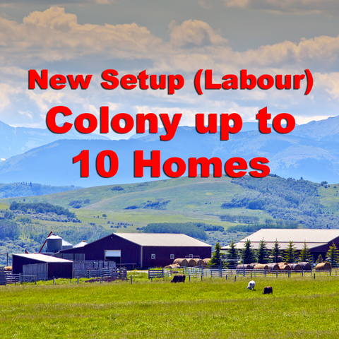 Colony Phone Setup (Labour) Up To 10 Homes