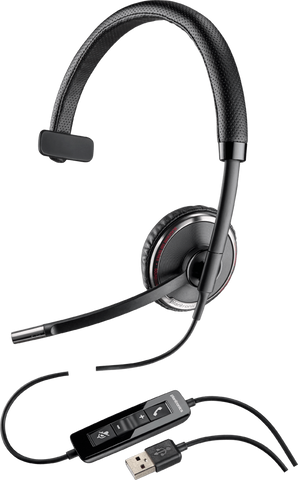 Commercial Corded USB Headset | Plantronics Blackwire C510