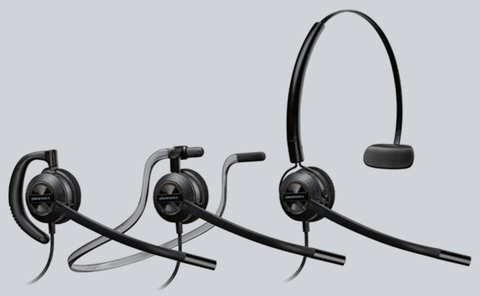 Commercial Corded Headset | Plantronics EncorePro 540