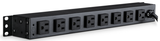 Rack Mount Power Bar with 10 Outlets - 1 U