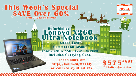 Lenovo ThinkPad X260 Ultrabook  - Weekly Special