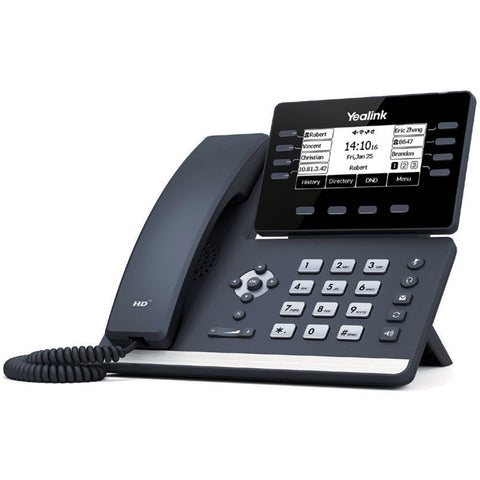 COLONY WiFi and Bluetooth Shop Phone w Power Supply | Yealink T53W-PS