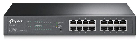 16 Port w 8 PoE Gigabit Switch | TP-Link TL-SG1016PE
