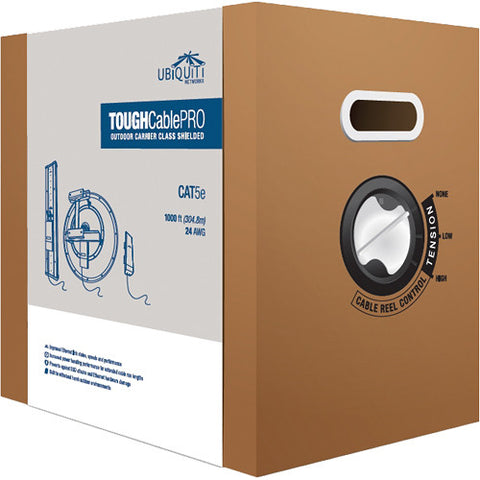 Tough Cable 1000ft | Outdoor Antenna Cat5e | Ubiquiti TC-PRO