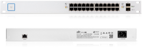 24 Port PoE Smart Switch 500W | Ubiquiti US-24-500W