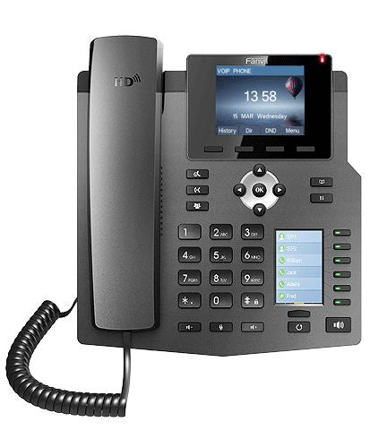 X4G Line Enterprise Multi Color Screens Gigabit Phones