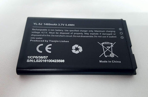 Replacement Battery for Yealink W56H Cordless Phone | Yealink YL-5J