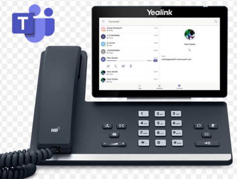 Microsoft Teams Executive Desk Phone | Yealink T58A Teams
