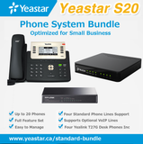 Standard Phone System Bundle for Non-VoIP Phone Lines