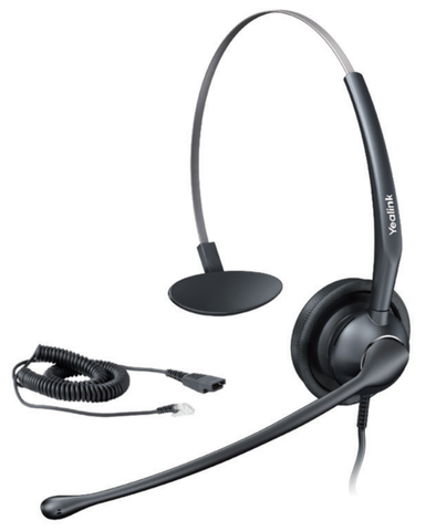 Commercial Corded Headset | Yealink YHS33