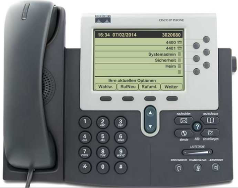 Cisco 7962g Desk Phone
