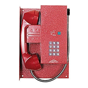 Emergency Phone Without Frame Assembly-Push Button Dial