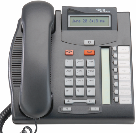 Nortel T7208 Desk Phone