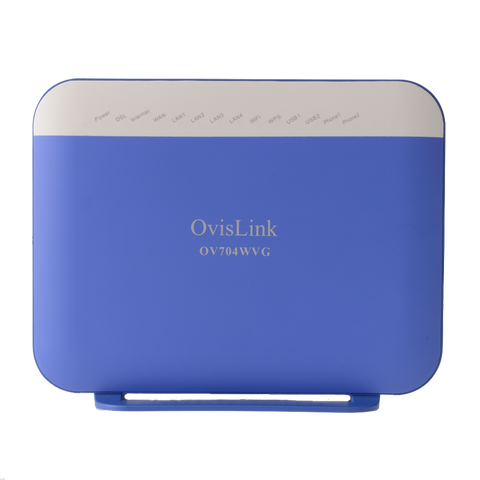 Ovislink OV704WVG VDSL Internet Modem with WiFi and FXS Port