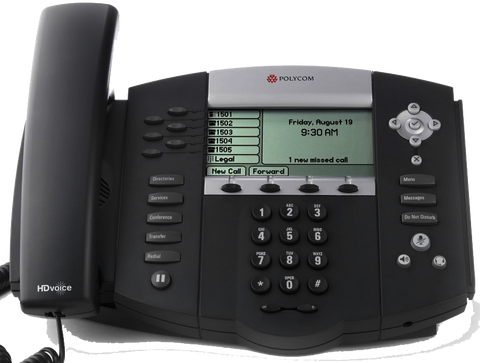 Polycom SoundPoint IP 650p Desk Phone