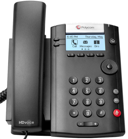 Polycom VVX 201 Desk Phone