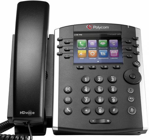 Polycom VVX 410 Desk Phone