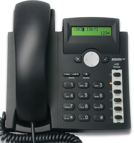 Snom 300p Desk Phone