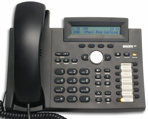Snom 320 Desk Phone
