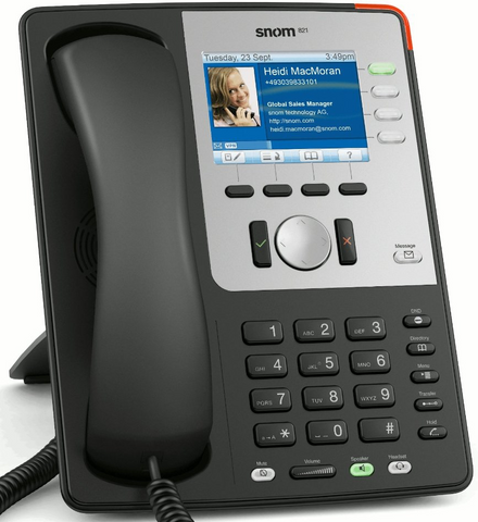 Snom 821 Desk Phone