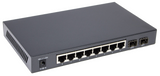 TP-Link TL-SG2210P Powered Smart Switch - Back Profile View