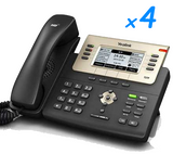 DIY Small Biz 5-Phone System Kit for Telus or Shaw Phone Lines