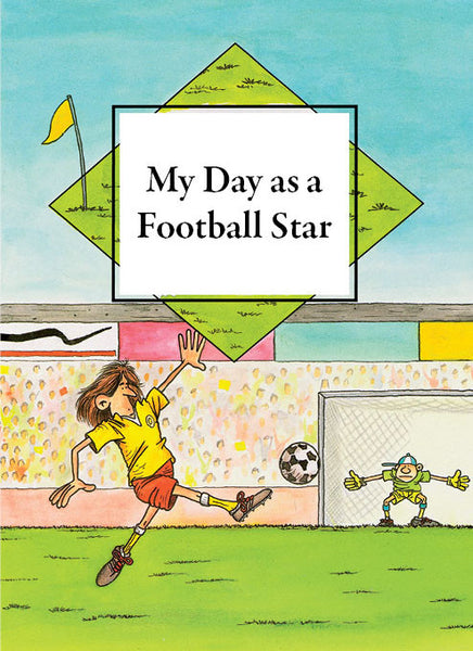 Personalised book for children - My day as a football star - PetitePeople