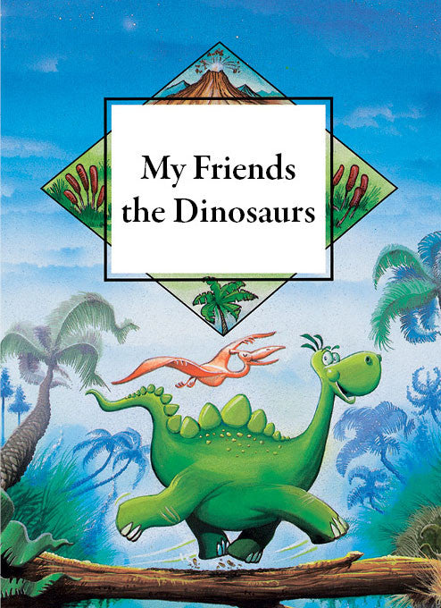 Personalised story book for children- My friend the dinosaur - PetitePeople