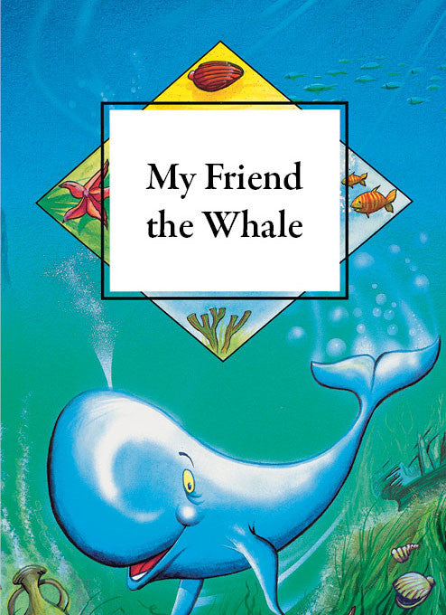 Personalised book for children - My friend the Whale - PetitePeople