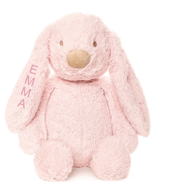 TEDDY BEAR WITH NAME LOLLI, TEDDYKOMPANIET PINK - PetitePeople
