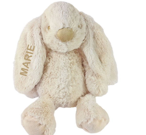 TEDDY BEAR WITH NAME LOLLI, TEDDYKOMPANIET, GRAY - PetitePeople