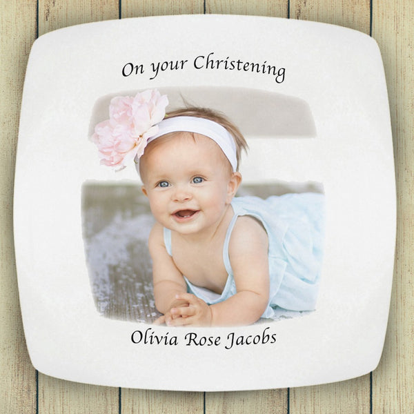 "10"" Square Photo Plate - PetitePeople"