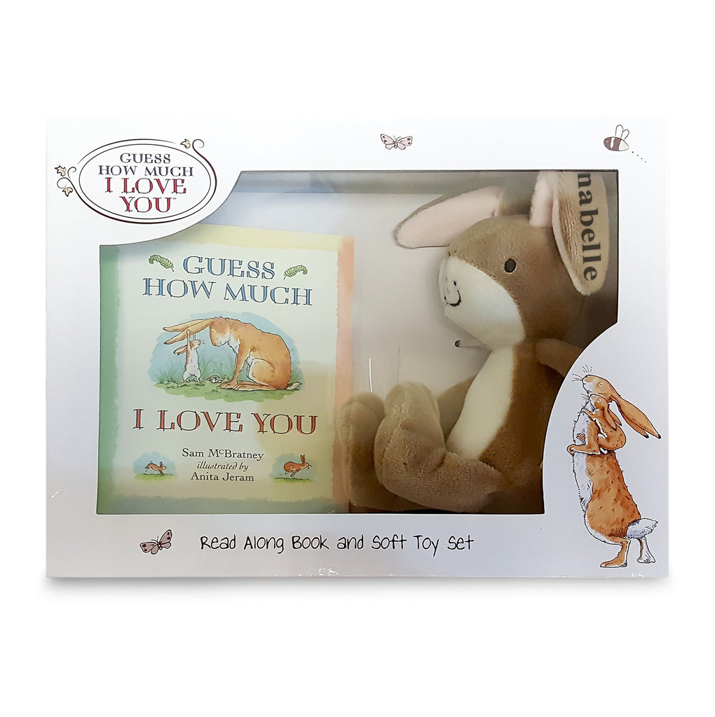 Guess How Much I Love You Book & Toy Set - PetitePeople