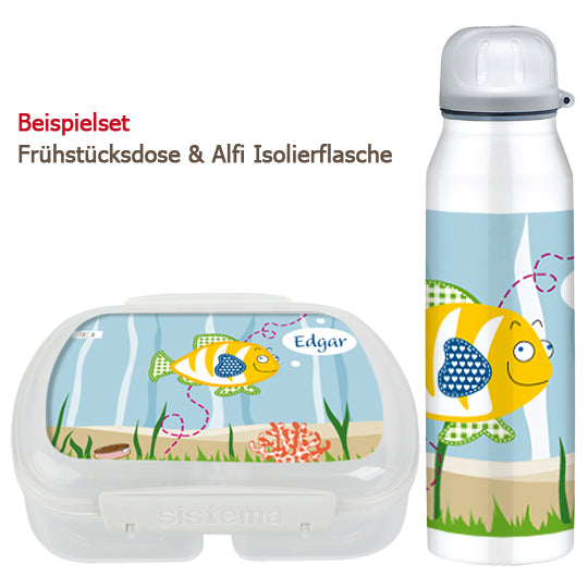 School set can and bottle of fish - PetitePeople