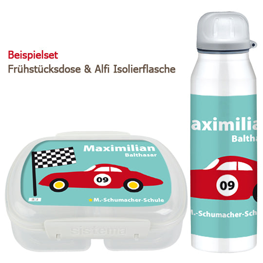 School set can and bottle sports car - PetitePeople