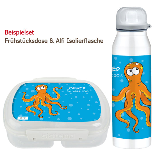 Breadbox and bottle - Octopus - PetitePeople