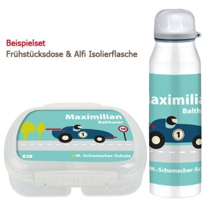 School set can and bottle formula racing car - PetitePeople