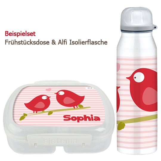 School set can and bottle Piep and Matz - PetitePeople