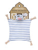 Organic Farm Buddies - security blanket 100% Organic Pirate Pig - PetitePeople