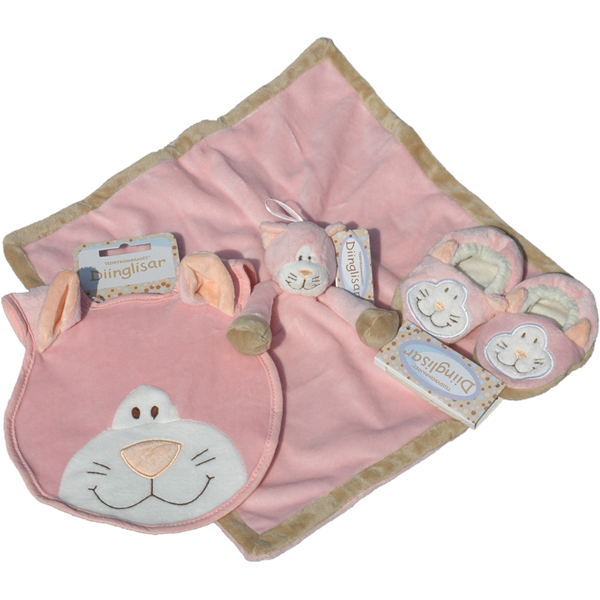Diinglisar personalised baby shower or christening giftset - PetitePeople