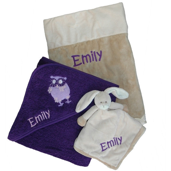 Baby gift basket - Purple - PetitePeople