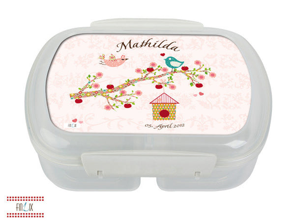 Personalized Lunch Box Floral Rose - PetitePeople