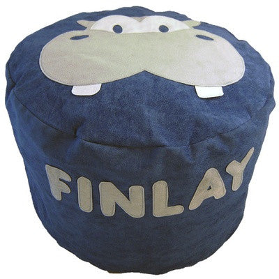 Personalised bean bag - Henry the Hippo - PetitePeople